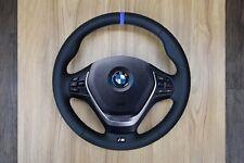 BMW 1 2 3 4 Series F30 F31 F22 F20 F34 F36 Steering Wheel Blue Ring Nappa