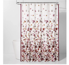 Creeping Floral Shower Curtain Pink/White - Threshold™