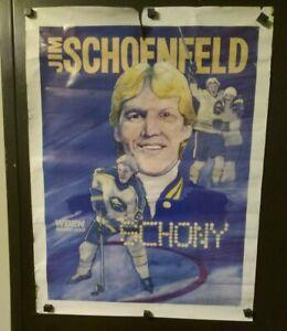 Jim Schoenfeld Buffalo Sabres WBEN 930 Poster