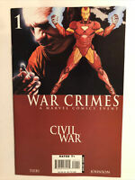 Marvel Comics Civil War War Crimes #1 Iron Man Appearance