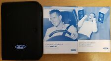 FORD FOCUS  HANDBOOK OWNERS MANUAL WALLET AUDIO GUIDE 2004-2007 PACK B-501