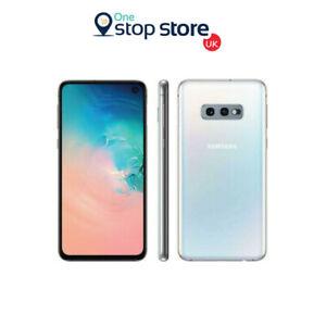"""Samsung Galaxy S10e Prism White 5.8"""" 128GB 16MP 4G Unlock Mobile Phone - G970F"""