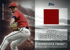 2020 Topps Baseball Card Relic Patch Red #MLM-JB Jose Berrios Minnesota Twins