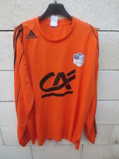 Maillot F.C LORIENT porté n°13 COUPE GAMBARDELLA 2010 shirt ADIDAS home L/S XL