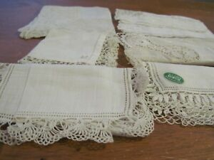VINTAGE WOMANS & CHILDRENS LACE HANKERCHIEF #4