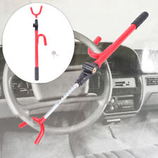 Steering Wheel Lock Anti Theft Devices Security System Car Truck SUV Auto Red