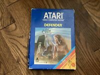 Defender (Atari 2600) - Complete in Box (Box, Manual, & Game) - Tested & Working