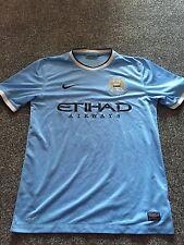 Manchester City Home Shirt 2013/14 Medium Rare