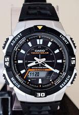 Casio AQS800W-1EV Mens SOLAR POWER Watch World Time 5 Alarms 100M WR New