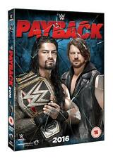Official WWE - Payback 2016 DVD