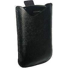 Amzer Universal Vertical Slip On Leather Pouch