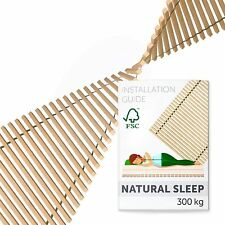 Slatted Bed Base 140x200 cm Premium - 41 Wooden Bed Slats Replacement