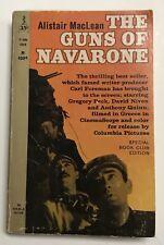 VINTAGE BOOK The Guns of Navarone by Alistair MacLean Perma Book 1966 5th print