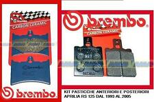07GR5605 + 07BB0135 Kit Pasticche Freno Brembo Ant + Post Aprilia RS 125 93/05