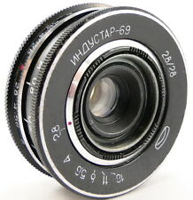 *PERFECT Con.* MMZ-LOMO INDUSTAR-69 2.8/28 Russian USSR Wide Angle Lens M39 #54