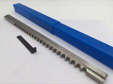 316 Keyway Broach Shim Inch 316 Hss Material Involute Spline Cutting Machine