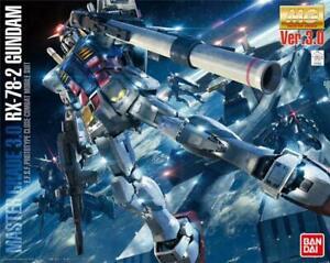 Bandai Model Kit - 1/100 Master Grade MG Gundam Rx-78-2 Ver 3.0