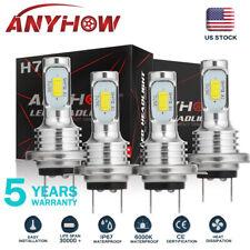ANYHOW H7+ H7 Combo LED Headlight Kit Bulbs High Low Beam 160W 16000LM 6000K 4X