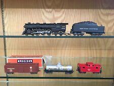 Lionel OO / 00 Gauge 2 Rail Semi-Scale Set w/ 004 Loco & 004W Tender & Boxcar OB