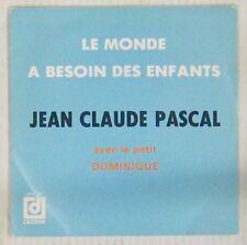 Jean-Claude Pascal 45 tours 1981