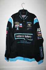 New Danica Patrick #10 Nature's Bakery NASCAR Racing cotton jacket men's S