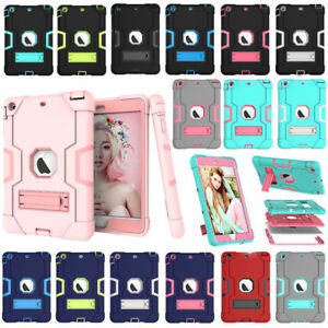 Shockproof Heavy Duty Hard Case & Stand Cover for Apple iPad 4 3 2 Mini 123 Air2