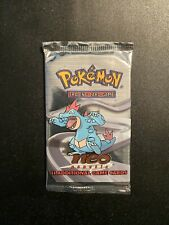 Neo Genesis Booster Pack Feraligatr Artwork Unlimited Factory Sealed Unweighted