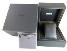 Original Brand New RADO Authentic Empty Black Watch Box With Black Pillow