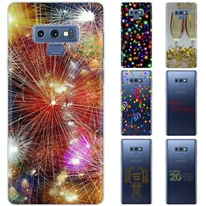 Dessana New Year Eve TPU Protective Cover Cell Phone Case for Samsung Galaxy
