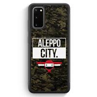 Aleppo City Camouflage Syrien Silikon Hülle für Samsung Galaxy S20 Motiv Desi...