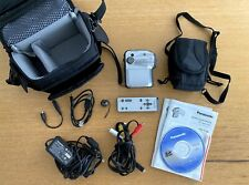 Panasonic SDR-S150 3CCD SD/SDHC Digitaler Camcorder mit viel Zubehör