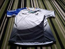 Men's BLK Western Force Rugby Union Shirt Size XXL VGC