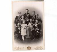 CAB Foto Kaiser Wilhelm II. mit Familie - Berlin um 1890