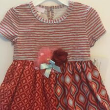 Bonnie Jean Baby Girl 24M Dress Boho Chic New