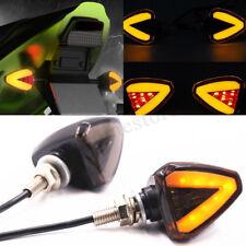 2x Motorcycle Motorbike Scooter LED Mini Turn Signal Light Indicator Brake Lamp