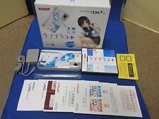 "Nintendo DS Love Plus + ""ManakaDeluxe"" Konami F/S From Japan limited model blue"