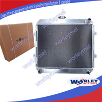 3Rows Aluminum Radiator for TOYOTA HILUX RN105 RN106 RN110 RN130 22R 2.4L Petrol