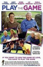 PLAY THE GAME Movie POSTER 27x40 Paul Campbell Andy Griffith Doris Roberts Marla
