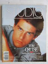 STUDIO magazine  N° 25  /Tom Cruise/Charles Chaplin/Faye Dunaxay/C. Lambert