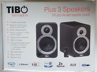 TIBO PLUS 3 SPEAKERS 110 WATTS BLUETOOTH 4.0  CLASS-D DIGITAL AMPLIFIER