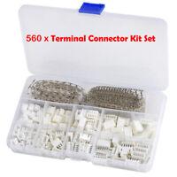 560PCS JST XH 2.54mm 2p 3p 4p 5 Pin Intestazione Terminale Connettore AWG#18~#26