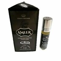 Ameer 6ml By Al Rehab Musky Woody Spicy Patchouli Perfume Oil / Attar