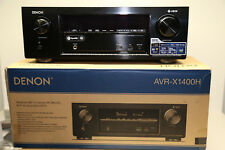 Denon AVR-X1400H 7.2 Kanäle 4K AV-Receiver, WLAN,Bluetooth,Heos,Atmos W.NEU/OVP