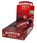 10x Elements Red 1 1/4 Medium Size Hanf Papers from Hemp
