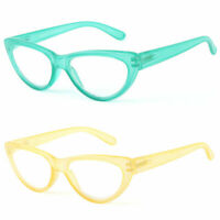 Women Reading Fashion Colors Cateye Readers Reading Glasses 5 Colors