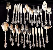 NEW 4 Sets 29 Piece Oneida Michelangelo Stainless Flatware w Hostess Set USA