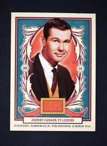 2013 Panini Golden Age #123 Johnny Carson - NM-MT