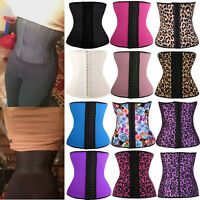 Body Slim Waist Trainer Shaper Corset Control Tummy Shapewear Bust Fajas Sweat