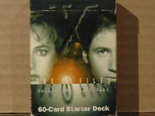 The X Files Collector Card Game (CCG) 60-card Starter Deck 1996 USP Card Co.