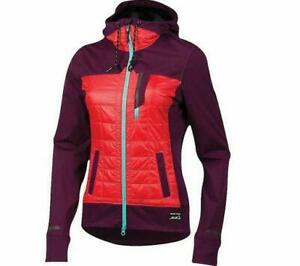 Pearl iZumi Versa Womens Purple Size Small Insulated Quilted Cycling Hoodie